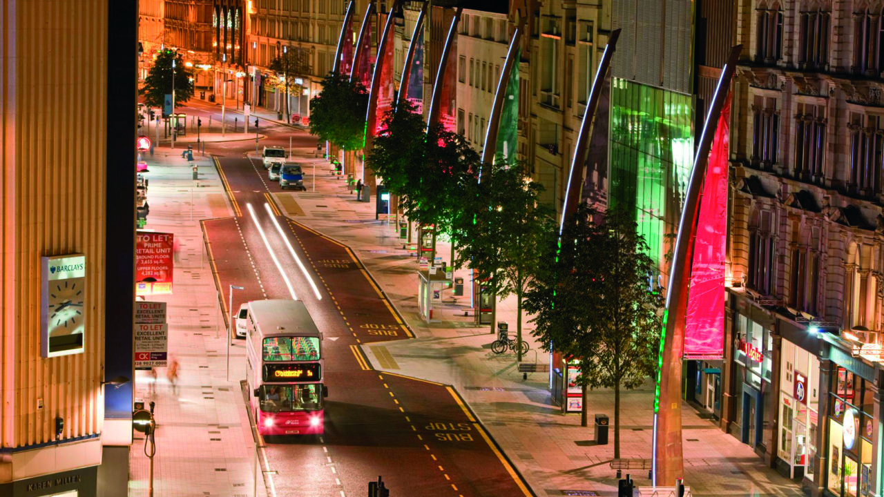 Metro Donegall Place night